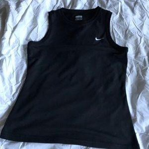 Black Nike muscle tee